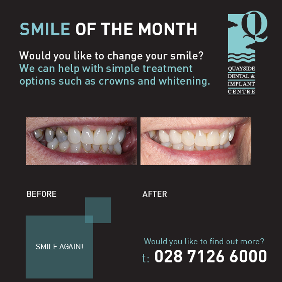 smile of the month march 2018